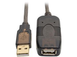 Tripp Lite Active USB 2.0 Extension Cable USB-A M/F 25ft 25' 7.6M (U026-025)