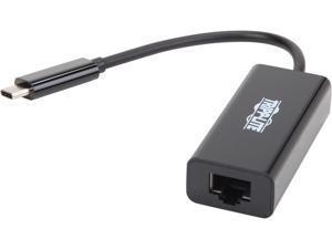 Tripp Lite USB C to Gigabit Ethernet Adapter USB Type C to Gbe 10/100/1000 (U436-06N-GB)