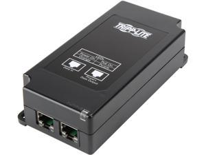 Tripp Lite Gigabit Midspan PoE+ Injector Active IEEE 802.3at/802.3af 1-Port (NPOE-30W-1G)