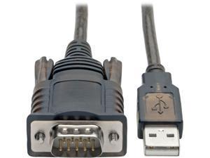 Tripp Lite FTDI USB to Serial RS-232 Adapter Cable w/ COM Retention M/M 5ft (U209-005-COM)