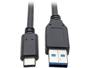 Tripp Lite USB C to USB-A Cable 5 Gbps USB 3.1 Gen 1 M/M USB Type C 6ft  (U428-006)
