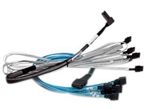 LSI Logic 05-60007-00 3.28 ft. (1 m) Broadcom 1m x8 SFF-8654 to 1x8 SFF-8654, 9402 Cable