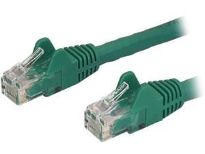 StarTech N6PATCH14GN StarTech.com Cat6 Patch Cable - 14 ft - Green Ethernet Cable - Snagless RJ45 Cable - Ethernet Cord - Cat 6 Cable - 14ft