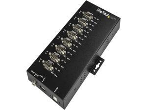 StarTech ICUSB234858I USB to RS-232/422/485 Serial Adapter - 8 Port - Industrial - 15 kV ESD Protection - USB to Serial Adapter - USB to Serial Hub