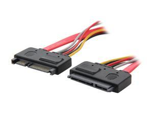 StarTech.com SATA22PEXT 1 ft. 22 Pin SATA Power and Data Extension Cable