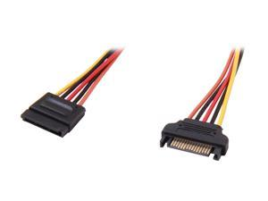StarTech.com SATAPOWEXT12 1 ft. 15 pin SATA Power Extension Cable