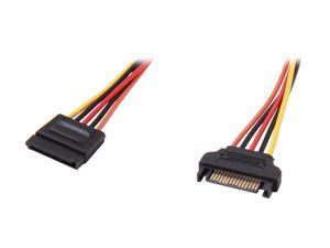 StarTech.com SATAPOWEXT12 1 ft. 15 pin SATA Power Extension Cable