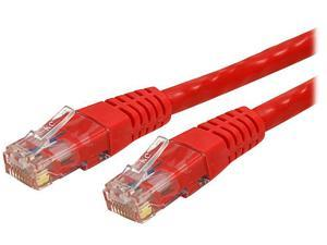 StarTech.com C6PATCH100RD 100 ft. Cat 6 Red Molded UTP Gigabit Patch Cable