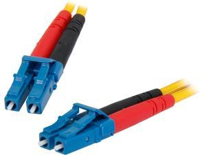 StarTech.com SMFIBLCLC10 32.81 ft. (10m) Single Mode Duplex Fiber Patch Cable LC-LC M-M Male to Male