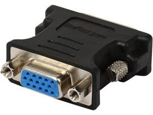 StarTech.com DVI to VGA Cable Adapter M/F - Black - 10 Pack