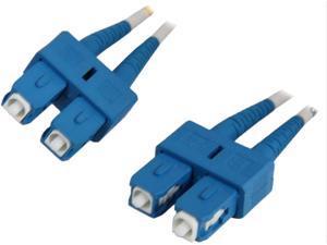 Coboc CY-OS1-SC/SC-3 9.84 ft. Yellow Singlemode 9/125 Duplex LSZH Fiber Patch Cable SC - SC,M-M