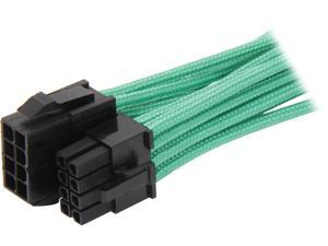 BitFenix BFA-MSC-8EPS45GK-RP 1.47 ft. Intel EPS 8-pin Extension Cable Male to Female