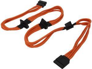 BitFenix BFA-MSC-M4SA20OK-RP 7.87 in. (20 cm) Power Cable Male to Female