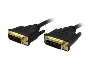 Comprehensive DVI-DVI-10ST Black Connector Type 1: DVI-D Male  Connector Type 2: DVI-D Male Male to Male DVI-D Dual Link DVI Cable