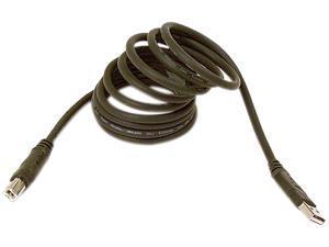 Belkin F3U133R1.8M 5.90 ft. Black USB A to USB B Cable