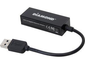 Diamond Multimedia UE3000 Diamond USB 3.0 to 10/100/1000 Gigabit Ethernet LAN Network Adapter ASIX AX88179 Chipset