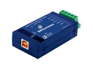 B&B USB To Isolated 422/485 W/Plug Term Block And Leds