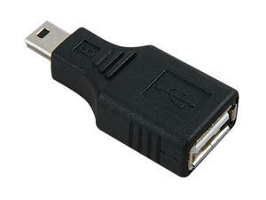 Insten 675703 USB 2.0 Type A to Mini USB 5-Pin Type B Female / Male Adapter