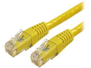 StarTech.com 50 ft Yellow Molded Cat6 UTP Patch Cable - ETL Verified