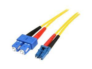 StarTech.com 1m Single Mode Duplex Fiber Patch Cable LC-SC