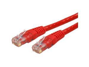 StarTech.com Patch cable - RJ-45 (M) - RJ-45 (M) -25 ft - ( CAT 6 ) - ETL - Red