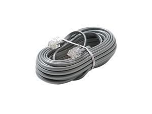 STEREN Model 304-050SL 50 ft 4C Telephone Line Cord