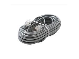STEREN Model 306-015SL 15 ft 6C Telephone Line Cord
