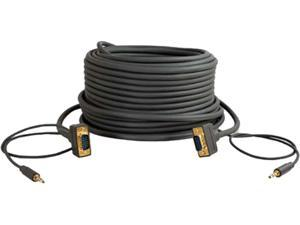 C2G 28250 6 feet Flexima HD15 UXGA + 3.5mm Stereo Audio Monitor Cable Male to Male