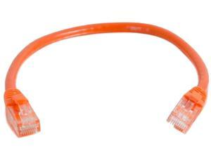 C2G 04017 Cat6 Cable - Snagless Unshielded Ethernet Network Patch Cable, Orange (4 Feet, 1.22 Meters)