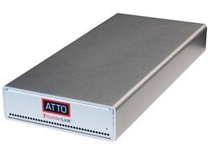 ATTO ThunderLink NS 3252 (SFP28) TLNS-3252-D00 40Gb/s Thunderbolt 3 (2-port) to 25GbE (2-Port) (includes SFPs)