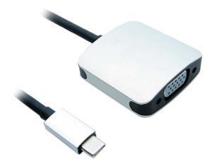 Nippon Labs 5.9 inch USB-C Male to VGA Female Adapter - 4K x 2K 60USB31C-VGAF
