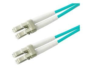 AddOn 6m Laser Optimized Multi-Mode Fiber (LOMM) Duplex LC/LC OM3 Aqua Patch Cable