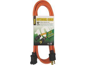 Prime Wire Model EC501610 10 ft. 16/3 SJTW Medium Duty Extension Cord