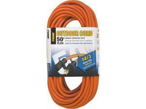 Prime Wire Model EC501730 50 ft. 14/3 SJTW Heavy Duty Outdoor Extension Cord