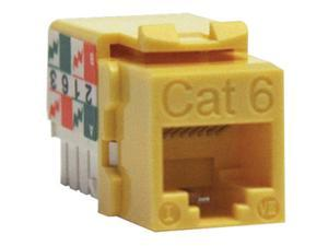 TRIPP LITE N238-001-YW Cat.6 110-punch Down Keystone Jack