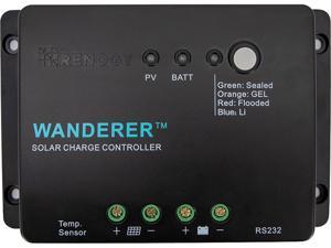 Renogy 100W 12V Monocrystalline Solar Starter Kit, Solar Panel Off-Grid Kit for RV, Boat, and Camping