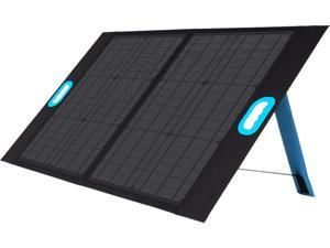 Renogy 50W Portable Monocrystalline Foldable Solar Panel with USB-C Port, and USB Port for Smartphones, Generators, Rechargeable Power Supplies, Laptops, Tablets, Outdoor, Camping