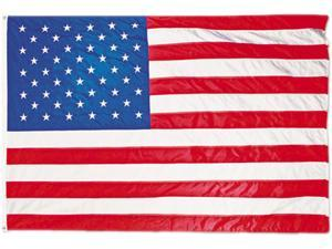 All-Weather Outdoor U.S. Flag, Heavyweight Nylon, 4 ft x 6 ft MBE002220