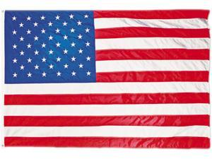 All-Weather Outdoor U.S. Flag, Heavyweight Nylon, 5 ft x 8 ft MBE002270