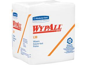 WypAll L30 DRC Towels (05812), Strong and Soft Wipes, White, 90 Towels / Pack