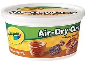 CRAYOLA 575064 CRAYOLA AIR DRY CLAY TERRA COTTA 2.5LB BUCKET