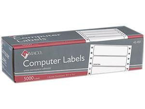 Maco High Speed Data Processing Label