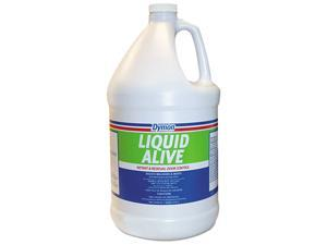 LIQUID ALIVE Odor Digester, 1gal Bottle, 4/Carton