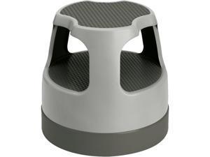"""Cramer 50011PK82 Scooter Stool 300 lb Load Capacity - 15.4"""" x 15.4"""" x 15"""" - Gray"""