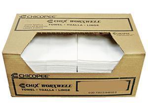 Chix Worxwell General Purpose Towels 13 x 15 White 100/Carton 8481