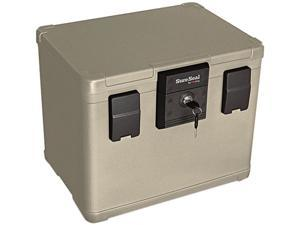 Fire King Fire and Waterproof Chest 0.6 cu ft 16w x 12.5d x 13h Taupe SS106