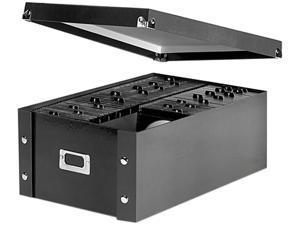 Media Storage Box, Holds 120 Slim/60 Standard Cases SNS01658
