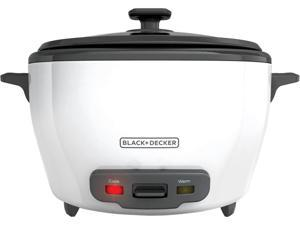BLACK+DECKER RC5280 28-Cup Rice Cooker, White