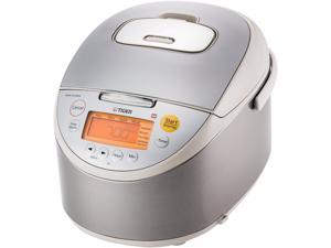 Tiger JKT-B18U Induction Heating Rice Cooker and Warmer, 20 Cups Cooked / 10 Cups Uncooked Made in Japan