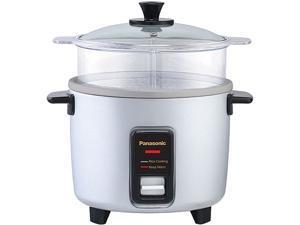PANASONIC SR-W10FGEL Automatic Rice Cooker/ Steamer, Silver